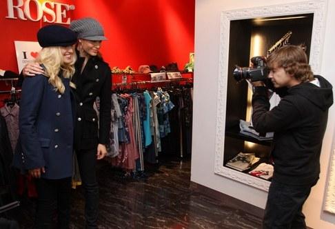 Zuzana Jandová a Renata Langmannová si zkoušejí novou kolekci Denny Rose