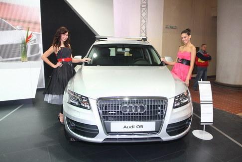 Finalistky Miss ČR na Autoshow 2009