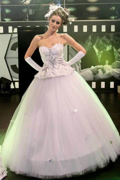 Svatební šaty roku 2009 - Zuzana Jandová
