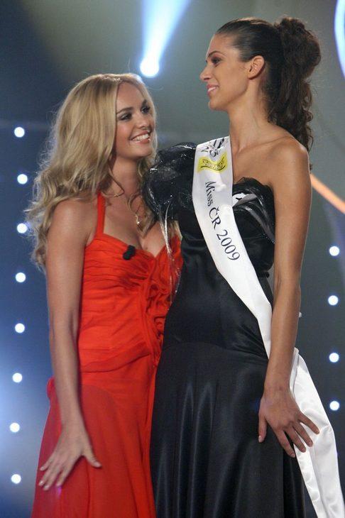 Taťána Kuchařová a Miss ČR 2009 Aneta Vignerová