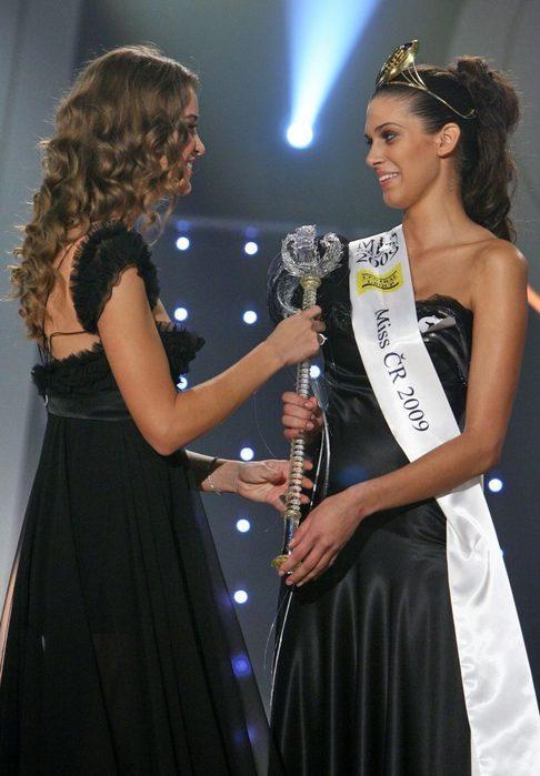 Zuzana Jandová a Miss ČR 2009 Aneta Vignerová