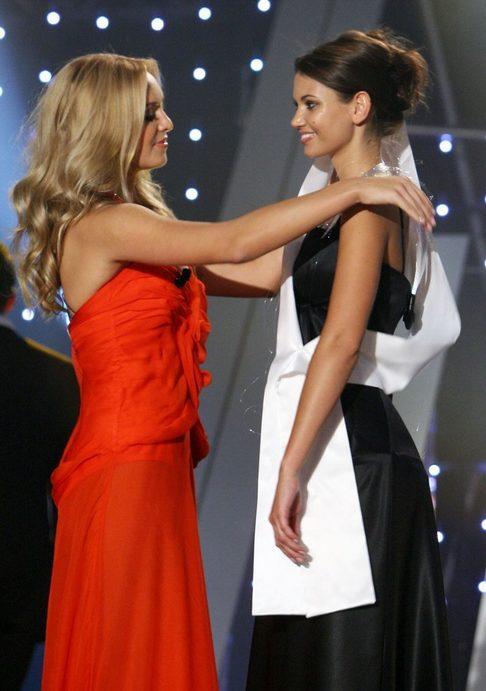 Taťána Kuchařová a 1. Vicemiss ČR 2009 Lucie Smatanová