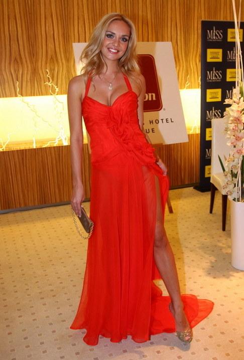 Večírek Miss ČR 2009 - Taťána Kuchařová