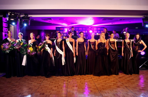 Večírek Miss ČR 2009