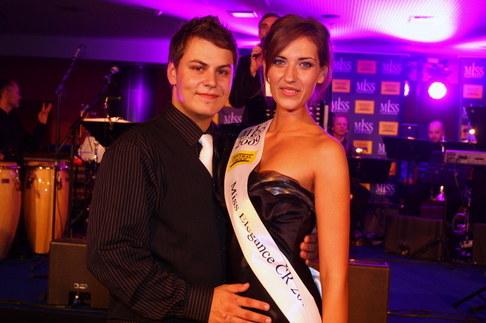 Večírek Miss ČR 2009 - Miss Elegance Monika Krpálková
