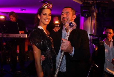 Večírek Miss ČR 2009 - Miss ČR 2009 Aneta Vignerová s přítelem