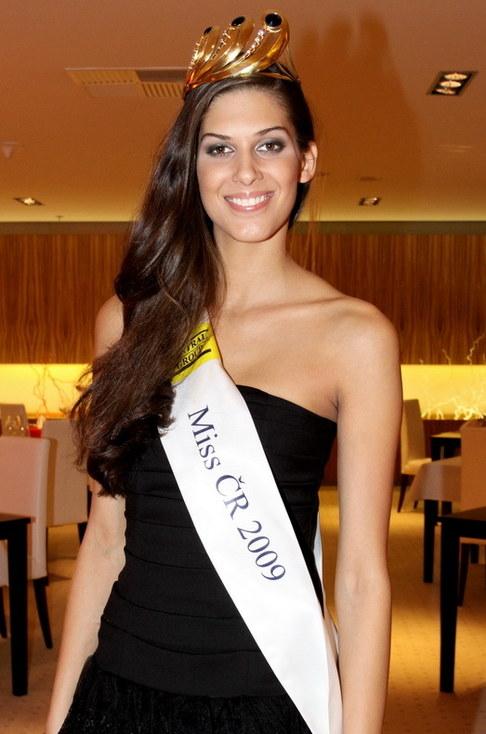 Miss ČR 2009 Aneta Vignerová