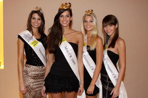 Vítězky Miss ČR 2009