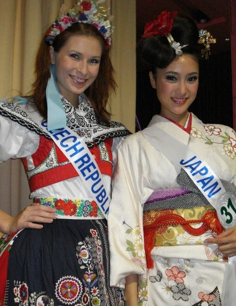 Darja Jacukevičová na Miss International