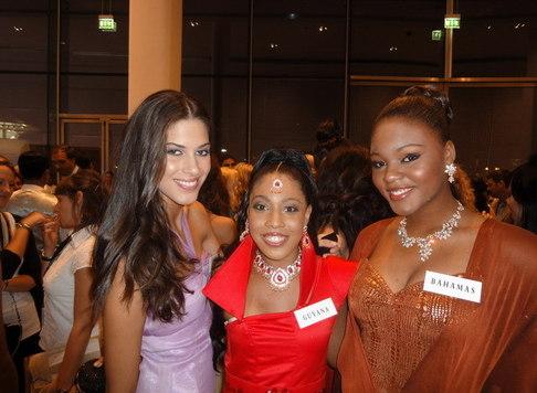 Aneta Vignerová na Miss World - spolusoutěžící