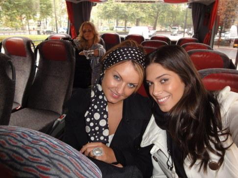 Aneta Vignerová na Miss World - dánská spolubydlící