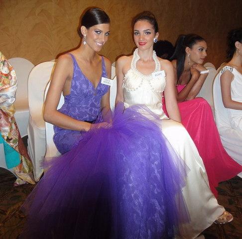 Aneta Vignerová na Miss World