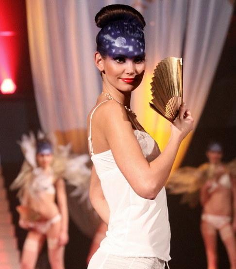 Módní přehlídka spodního prádla Triumph - Lucie Smatanová