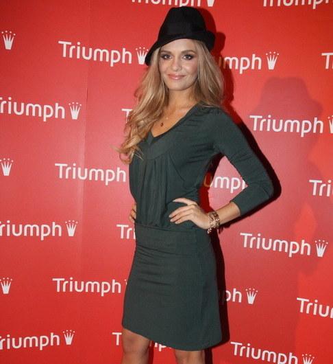 Módní přehlídka spodního prádla Triumph - Taťána Kuchařová