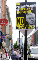 Kampaň proti smlouvě v Irsku