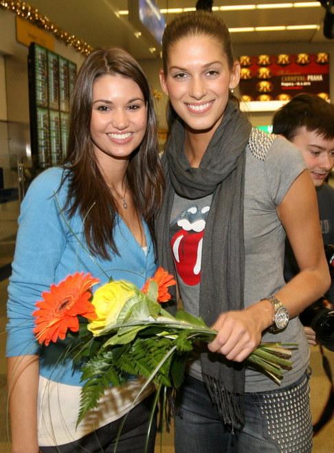 Aneta Vignerová přiletěla z Miss World - s Lucií Smatanovou