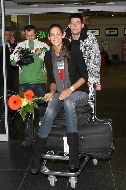 Aneta Vignerová přiletěla z Miss World