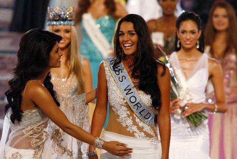 Novou Miss World se stala dívka z Gibraltaru