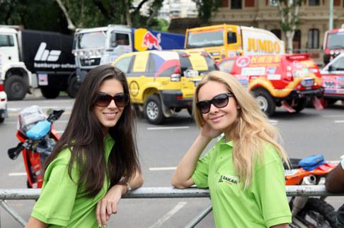 Taťána Kuchařová a Aneta Vignerová v Argentině