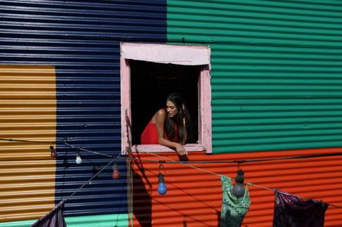 Aneta Vignerová v Argentině