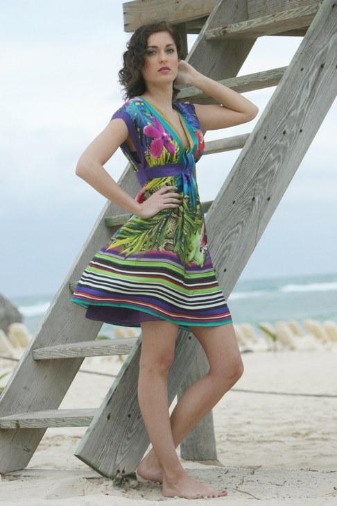 Finalistky České Miss 2010 na soustředění v Dominikánské republice