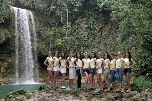 Finalistky České Miss na soustředění v Dominikánské republice