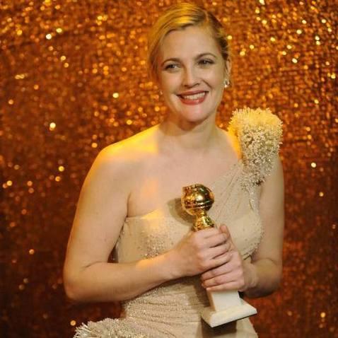 Slavnostní předávání Zlatých glóbů - Drew Barrymore