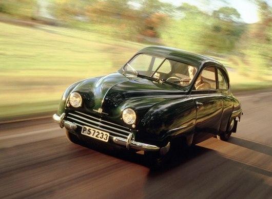 Saab 92 byl prvn� model značky. Prod�vat se začal přesně před 60 lety