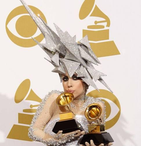 52. Předávání hudebních cen Grammy - Lady GaGa