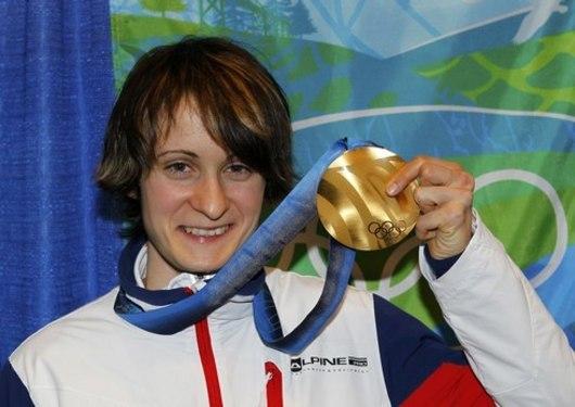 Martina Sáblíková se zlatou medailí