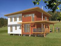 Dřevěný dům č. 18