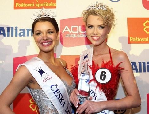Finálový večer České Miss 2010 - Jitka Válková a Veronika Machová