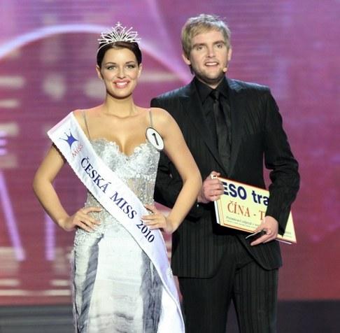 Finálový večer České Miss 2010 - Jitka Válková a Libor Bouček