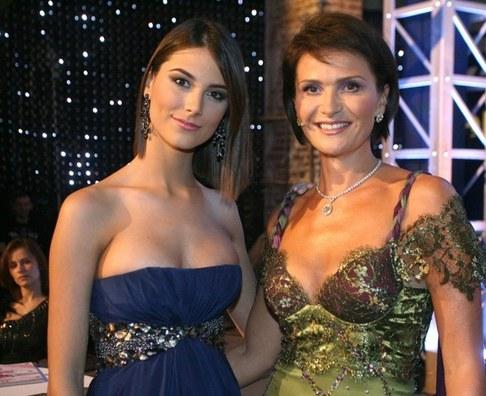 Finálový večer České Miss 2010 - Stefania Fernández a Michaela Maláčová