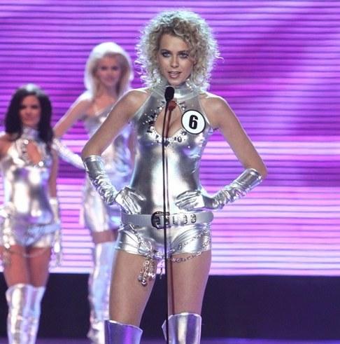 Finálový večer České Miss 2010 - Veronika Machová