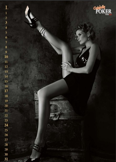 Kalendář Celebrity Poker Tour 2010 - Iveta Lutovská