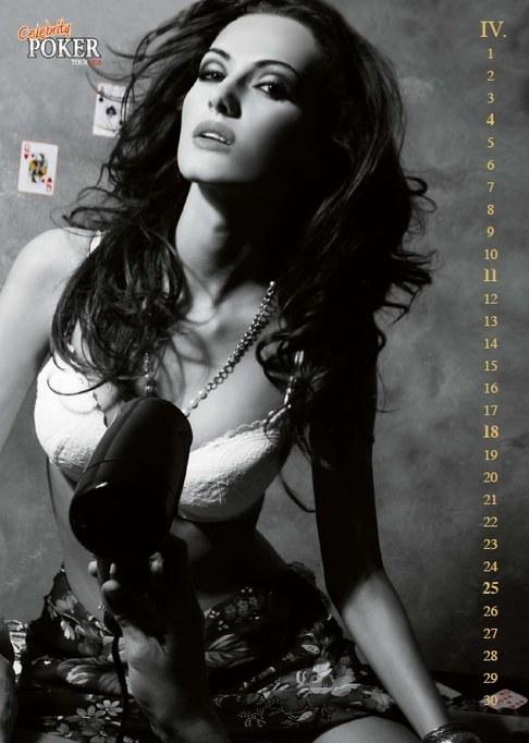 Kalendář Celebrity Poker Tour 2010 - Eliška Bučková