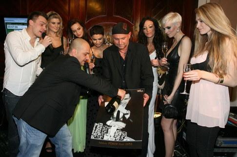 Křest kalendáře Celebrity Poker Tour