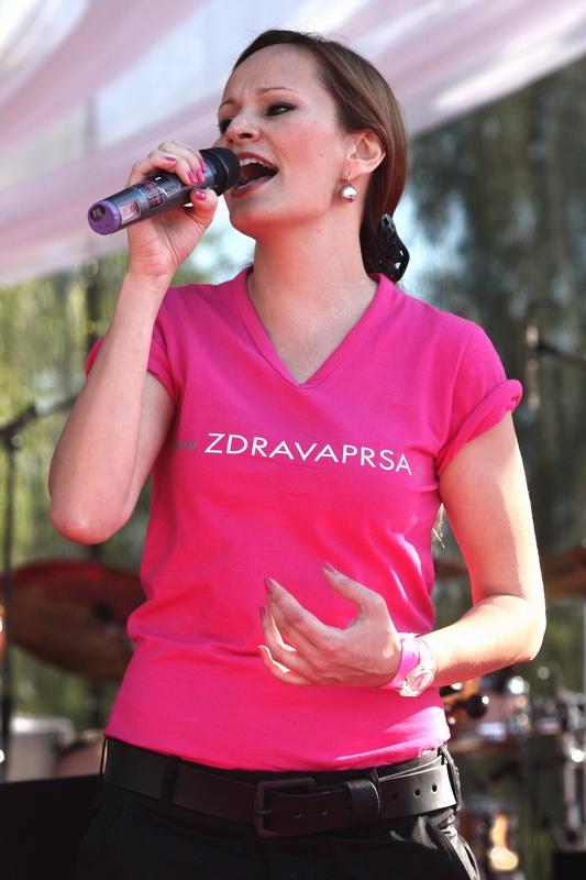 Avon Pochod proti rakovině prsu - Monika Absolonová
