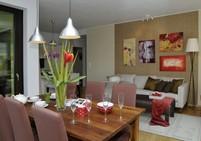 Bydlení, byt, obývací pokoj, jídelna