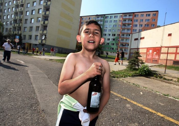Cikáni a jejich zanedbané děti - Determinismus vs. svobodná vůle