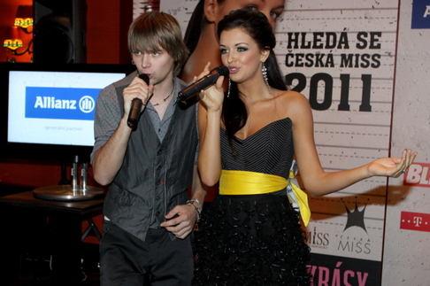 Česká Miss představila novou koncepci - Jitka Válková a Josef Vágner