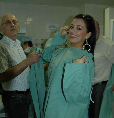 Jitka Válková byla v nemocnici