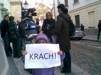 Demonstrace proti zdanění fotovoltaiky