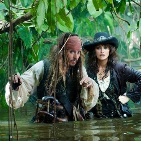 Piráti z Karibiku 4 - Penélope Cruz a Johny Depp