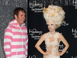Vosková figurína Lady GaGa v Hollywoodu