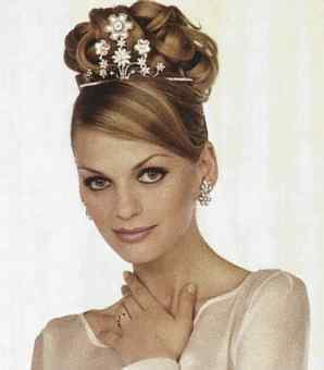 Svatební účasy - vlasy jako šperk