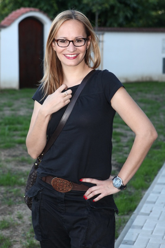 Slavnostní otevření nové restaurace El Asador - Monika Absolonová
