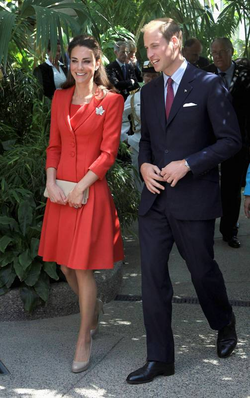 Kate a William nav�t�vili Kanadu - V�vodkyn� Kate a Princ William
