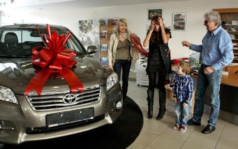 Olga Lounová oslavila s rodinou 30. narozeniny